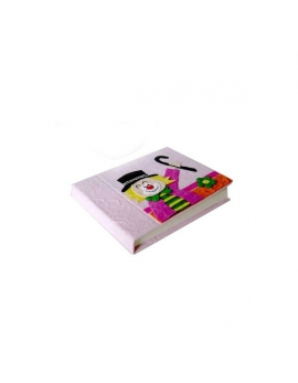 Set de 12 libretas decoradas con payaso