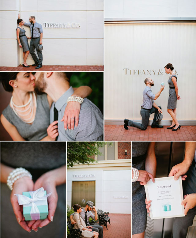 Preboda en Tiffany & Co.