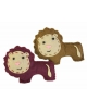 Broche fieltro leoncitos