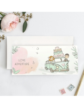 Invitación Love Adventure