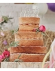 Cake topper de madera Just Married
