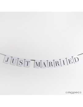 "Guirnalda ""Just married"""