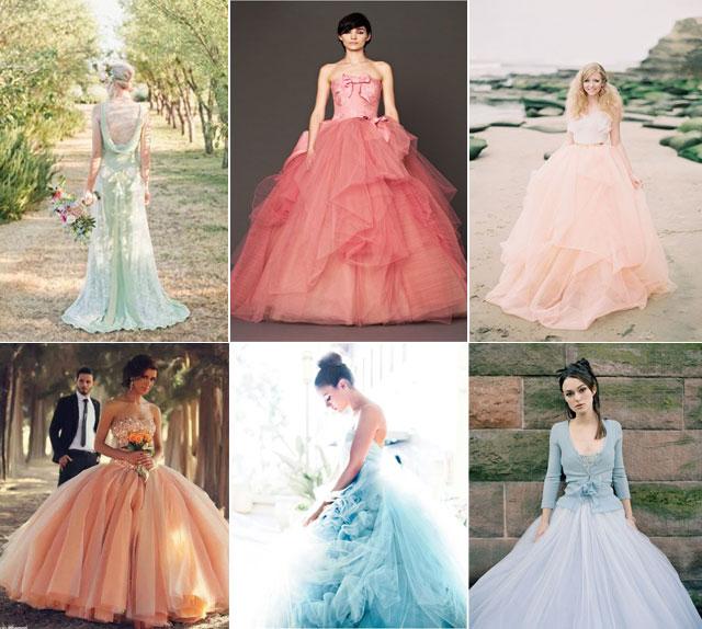 Vestido De Novia Y Color Vestidos De Fiesta